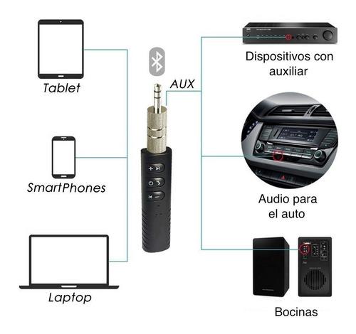 binden receptor auxiliar bluetooth v4.0 manos libres conecta 2 dispositivos