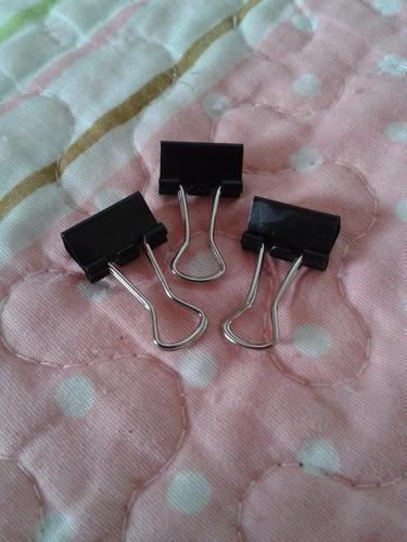 binder clips,clips mordaza,sujetadores de 15mm,ganchos,papel