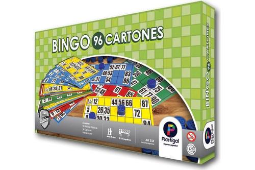 bingo 96 cartones plastigal