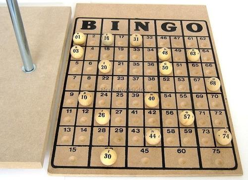 bingo completo globo cromado nº4 + 300 cartelas grátis