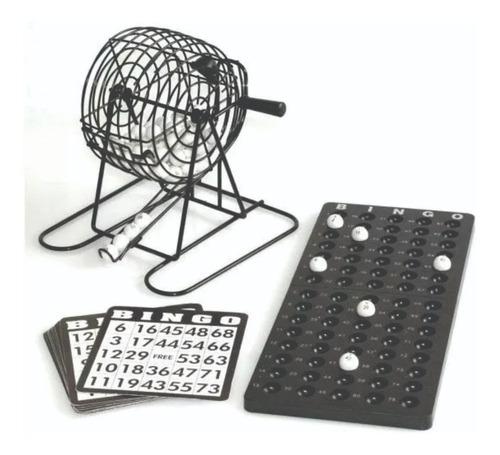 bingo metalico con bolillero completo en caja nuevos