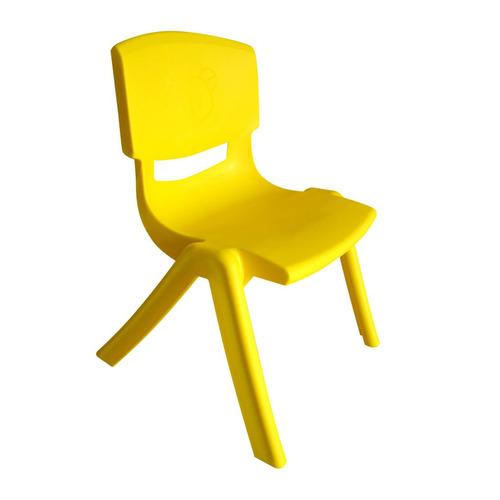 bingo silla para mesa de niños amarillo - barulu