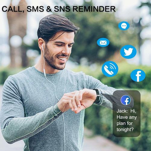 bingofit 905hr fitness activity tracker, slim wearable re