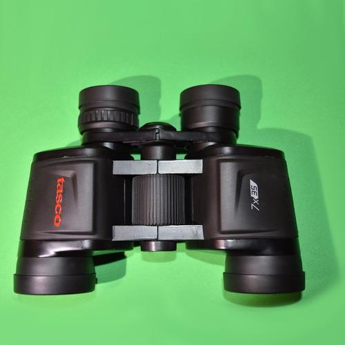 binocular tasco 7x35 new essentials black porro
