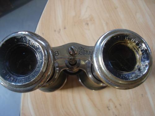 binoculare largavista prismatico antiguos estuche c/brujula