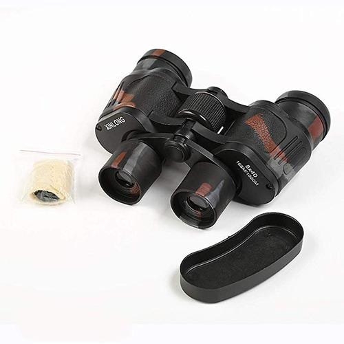 binoculares alta definición. telescopio. aventura. camping.