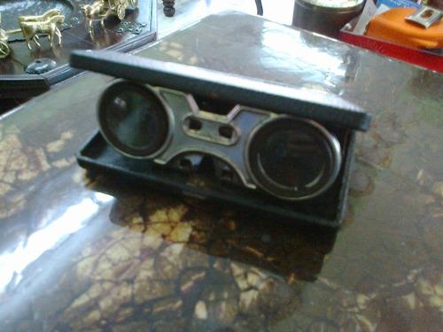 binoculares antiguos de coleccion originales metalicos