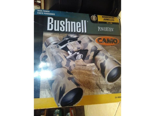 binoculares bushnell powerview 10x50 camo