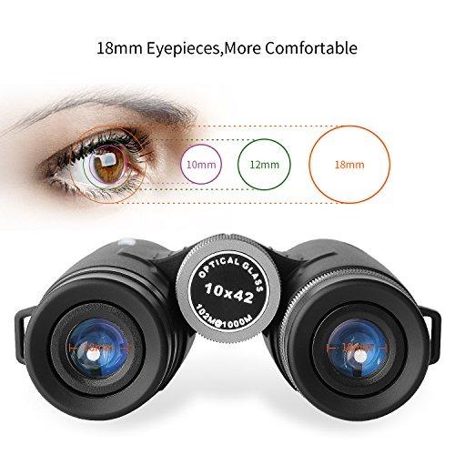 Binoculares Ciwa Para Adultos, Ultra Hd 10x42 Para Observac ...
