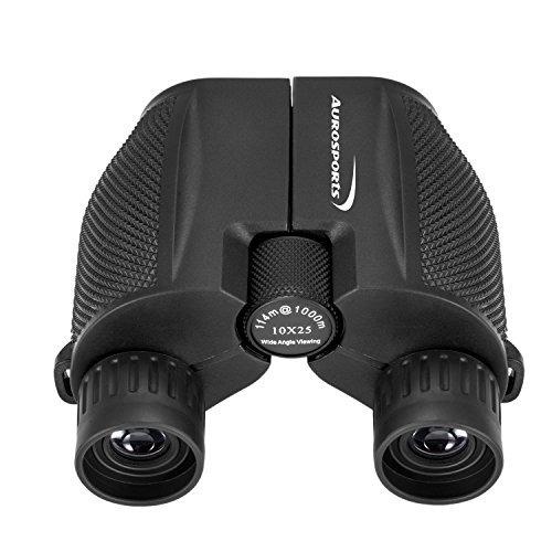 binoculares de alta potencia plegables 10 x 25 aurosports co