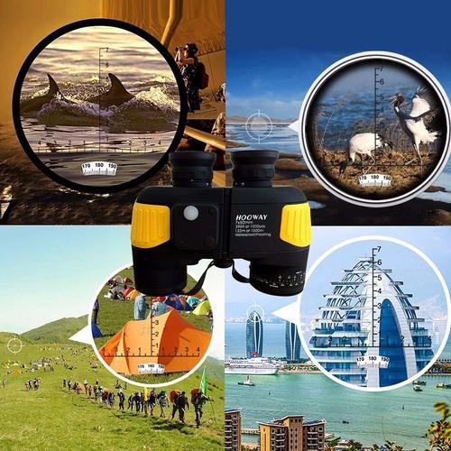 binoculares hooway 7x50 impermeable resistente a niebla
