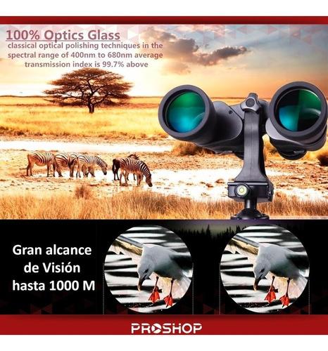 binoculares larga vista potente prismatico 10x50 bak-7 modelo nuevo