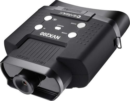 binoculares nvx200 infrarojo visión nocturna 100 mts bq12996