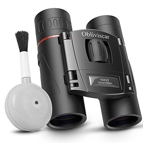 Binoculares Para Adultos, 10x22 Compacto Ligero Hd Binocular ...