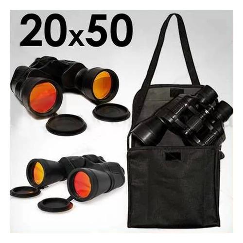 binoculares prismaticos 20x50 brujula estuche filtro uv