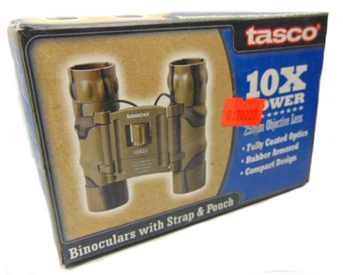 binoculares tasco 10x 25mm ideal para todo moemnto