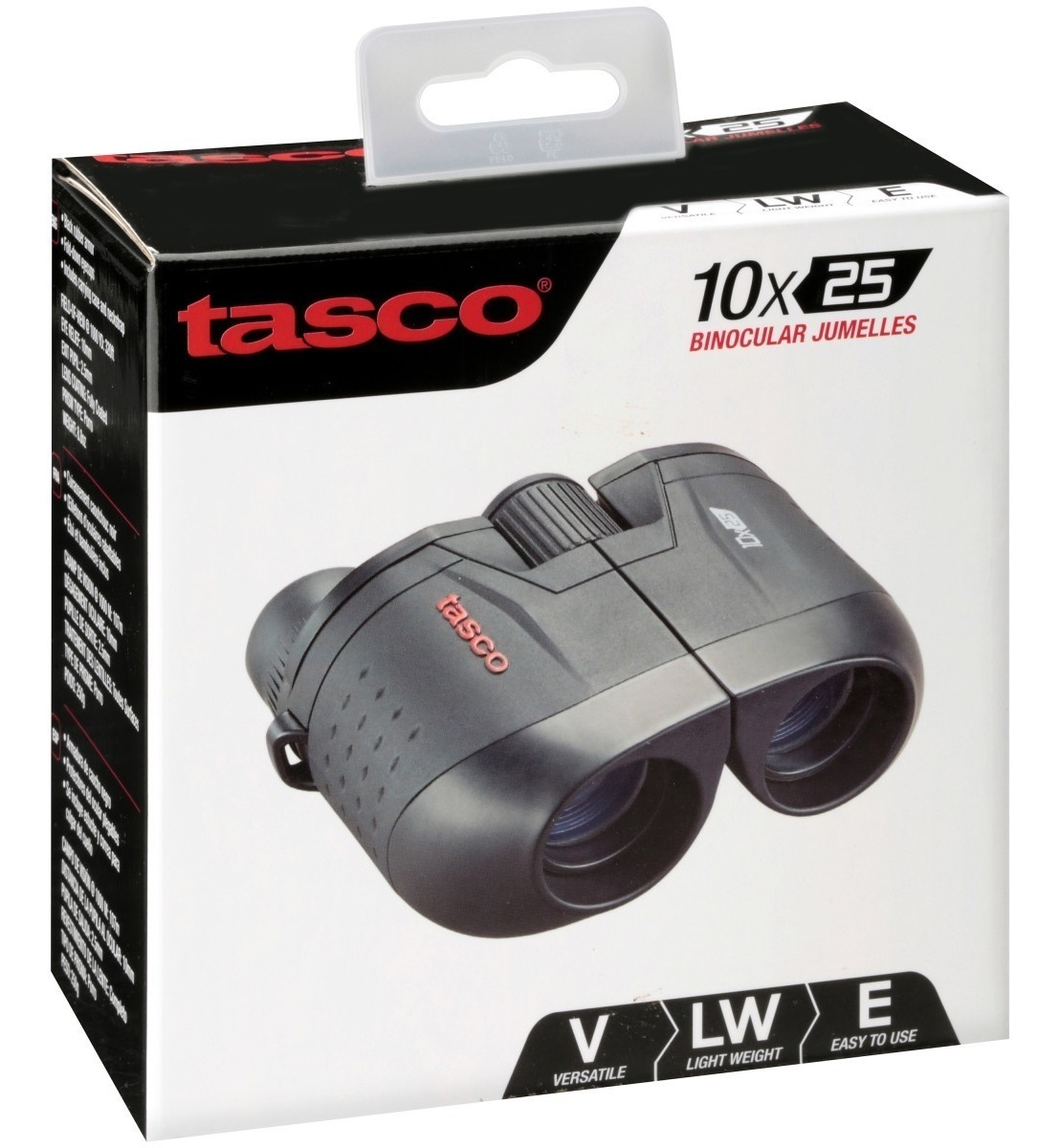Tasco Essentials Prismaticos 7x50 observacion y Aire Libre Negro