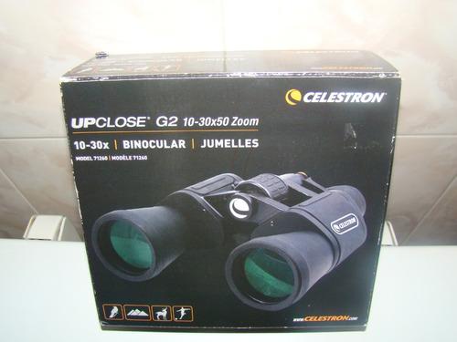 binoculares upclose g2 10-30x50 zoom marca celestron
