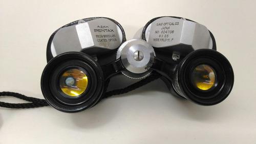 binóculo asahi pentax optical 6x25
