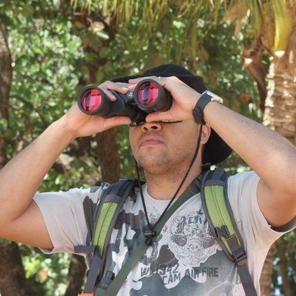binóculo nautika pelicano 7x50mm - pesca- camping - presente
