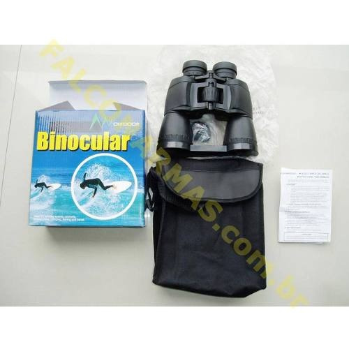 binóculo outdoor - ar+  8-24x50, com zoom regulável. mod