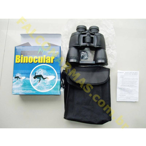 binóculo outdoor - ar+  8-24x50, com zoom regulável. mod sz3
