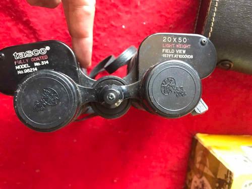 binóculo tasco 20x50 antigo raro igual usado p/ exércitousa
