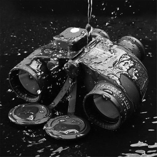 binóculo telêmetro bússola 10x50 hd prova d 'água zoom preto