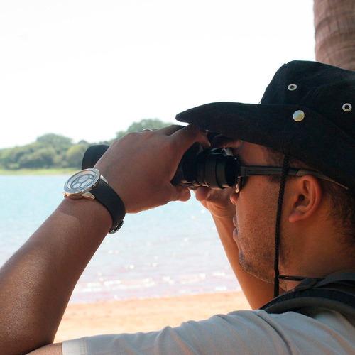 binóculo tucano nautika com estojo e alça