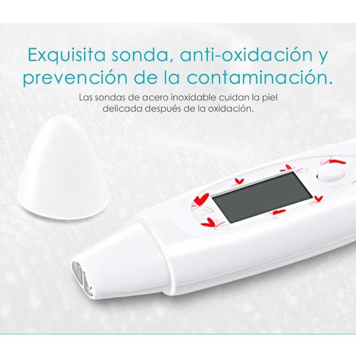 binzim detector de piel analizador prueba humedad aceite