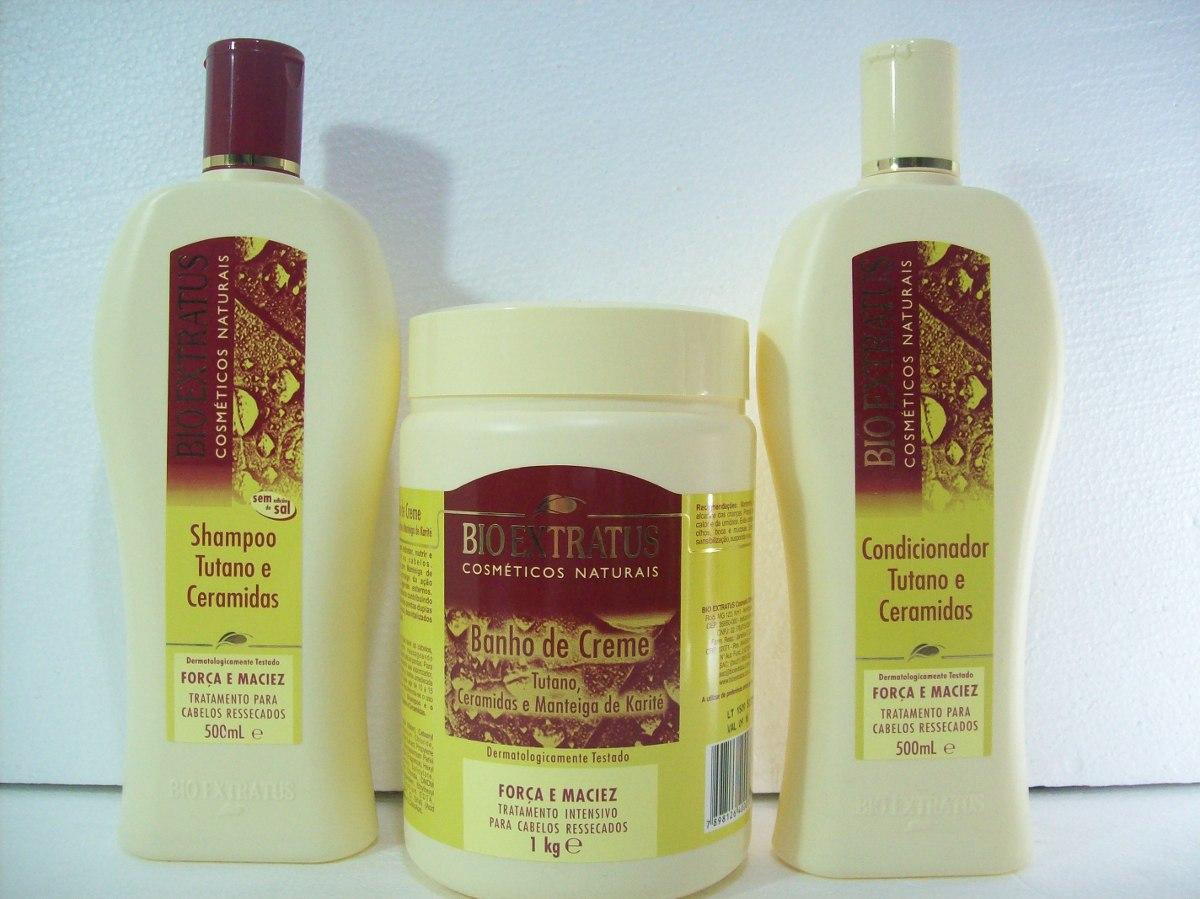 kit bio extratus shampoo 500g condicionador 500g m scara 1kg r 135 50 em mercado livre. Black Bedroom Furniture Sets. Home Design Ideas