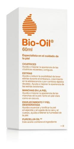 bio oil tratamiento para cicatrices, estrías y manchas 60 ml