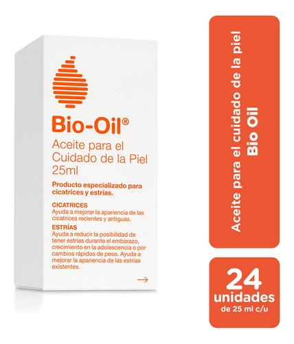 bio oil tratamiento para cicatrices,estrías,manchas 25ml x24