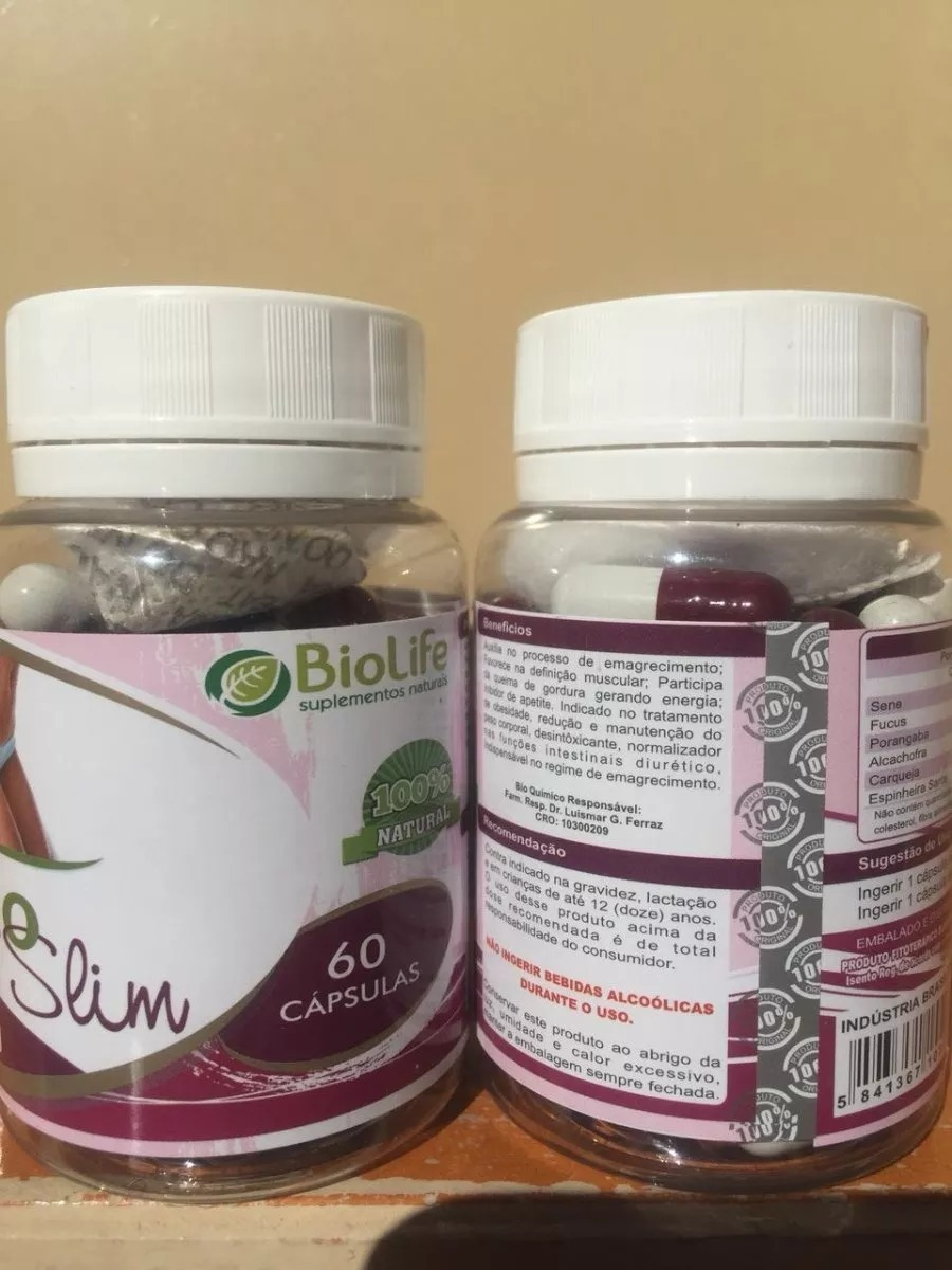 Bio Slim - 30 Capsulas - R$ 129,99 em Mercado Livre