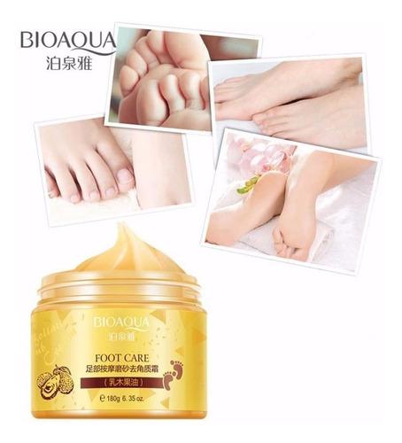 bioaqua exoliante para pies anti callos resequedad suaviza