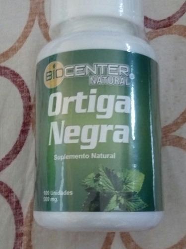 biocenter ortiga negra 500 mgrs. capsulas x 100