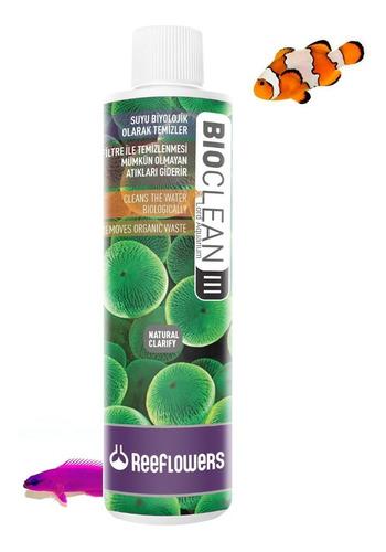 bioclean ill 85ml reeflowers reduz nitrato, fosfato em reefs