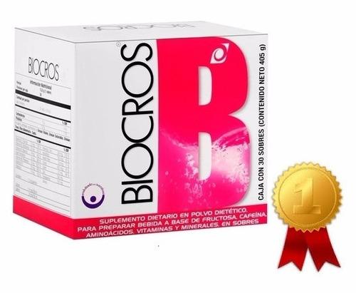 biocross energizante omnilife  x 30 sobres (o en bote) envio