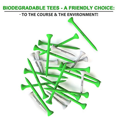 biodegradable golf tees  100 count  combo
