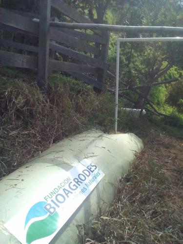biodigestor:  para el aprovechamiento de residuos organicos