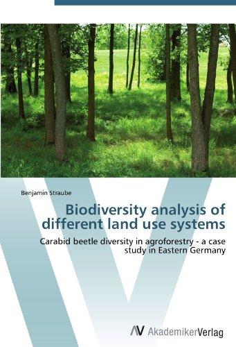 biodiversity analysis of different land use systems; straub