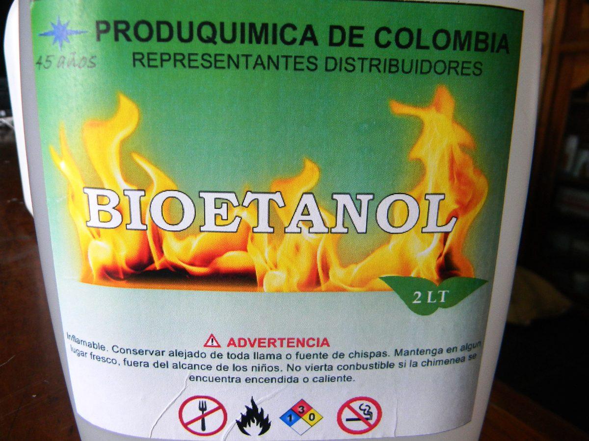 Bioetanol combustible ecologico para chimeneas 96 28 - Combustibles para chimeneas ...