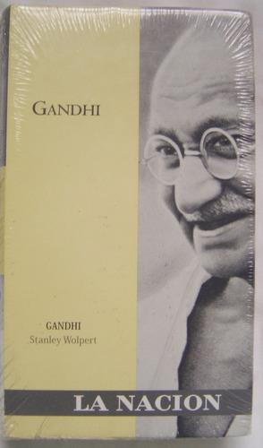 biografía de gandhi / stanley wolpert (ed la nación)
