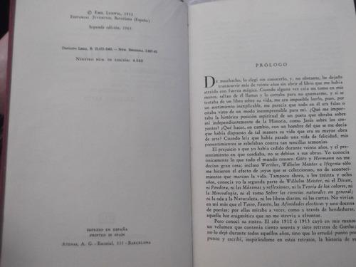 biografia de goethe emil ludwig tapa dura ilustrado