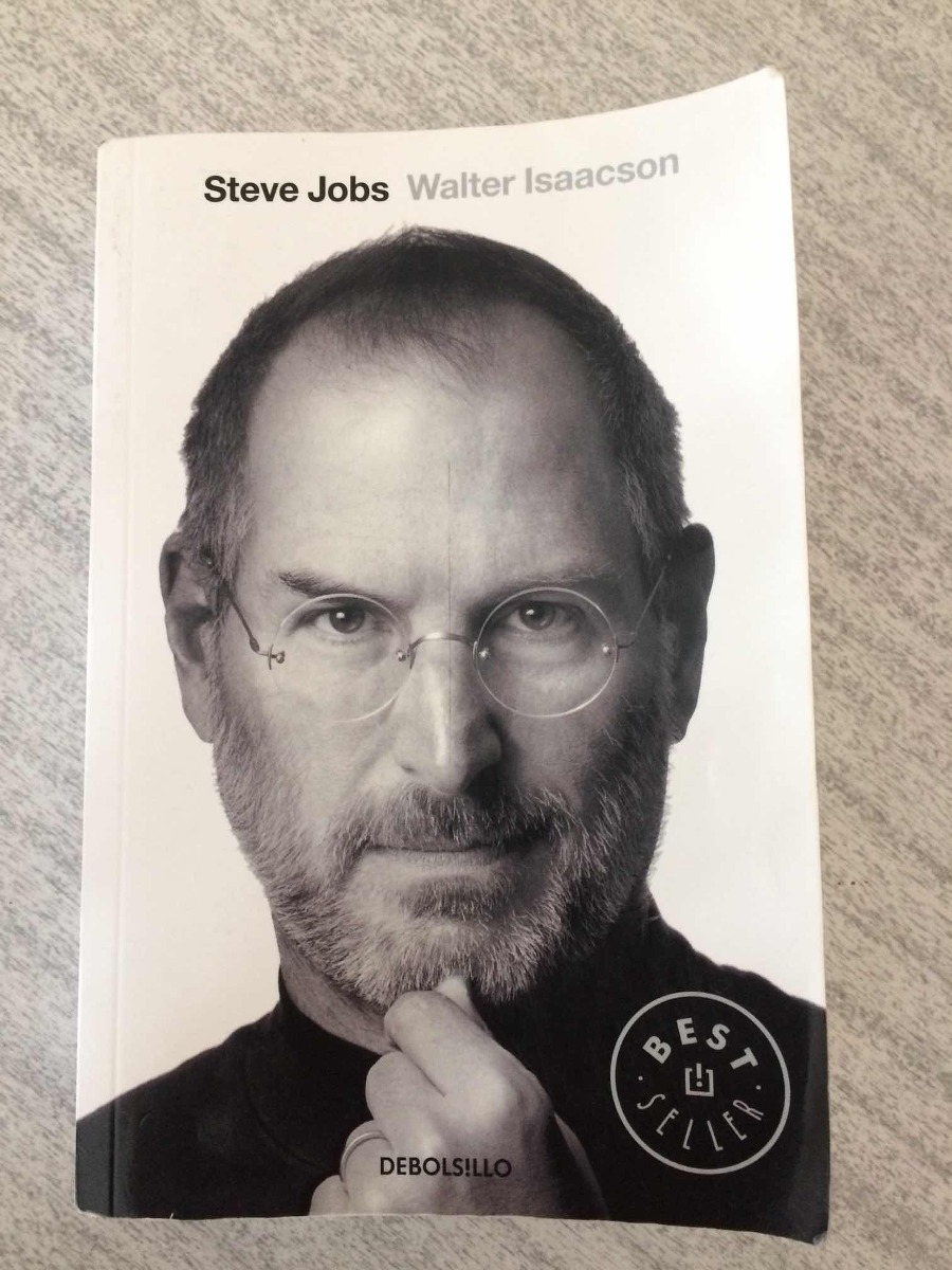 fa3462807b5 biografía de steve jobs, por walter isaacson, de bolsillo. Cargando zoom.