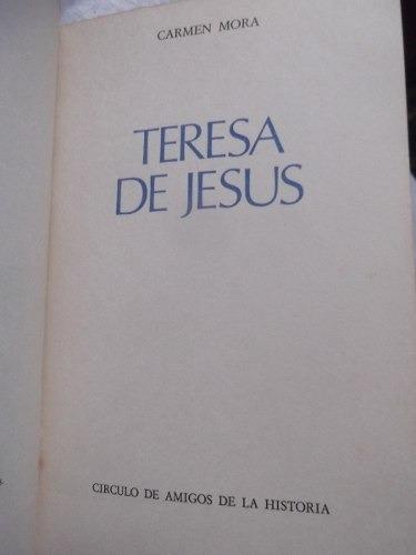 biografia de teresa de jesus carmen mora tapa dura ilustrado