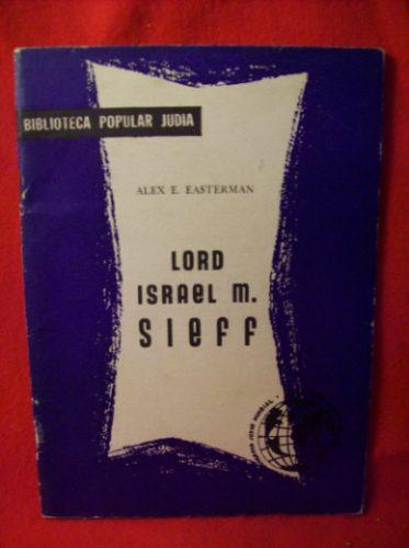 biografia: lord israel sieff por alex easterman cuadernillo