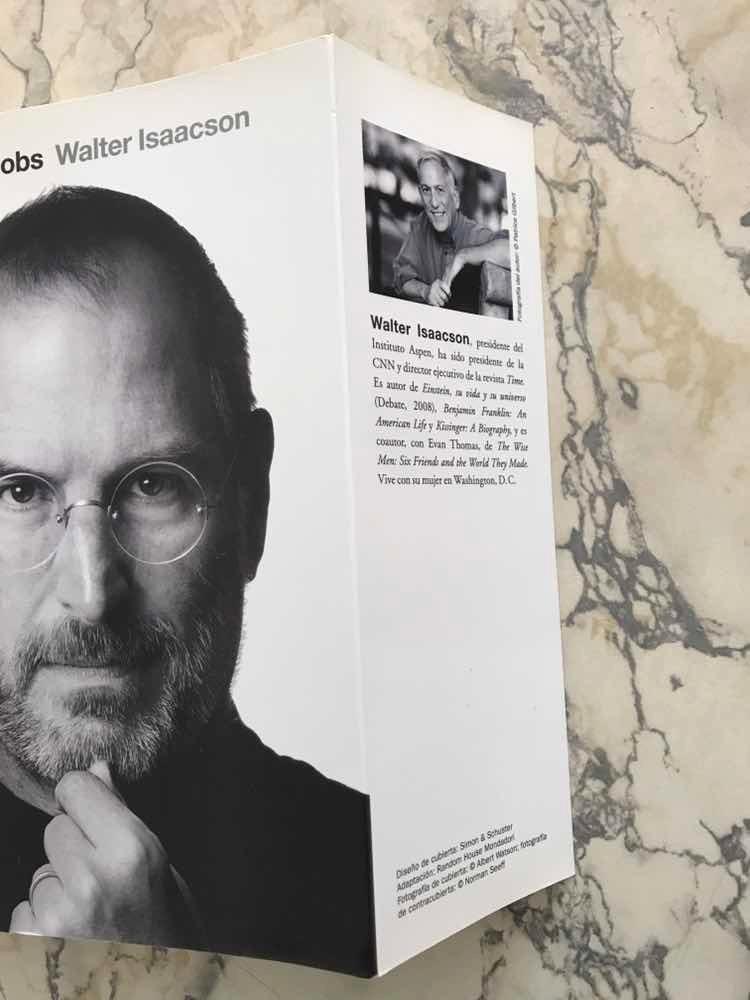9acfe3477dd Biografía Steve Jobs Libro - $ 399,00 en Mercado Libre