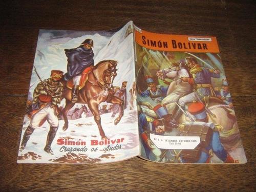 biografias em quadrinhos nº 6 simon bolivar setemb/1959 ebal