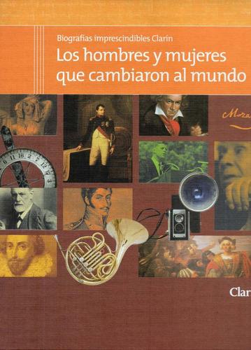 biografías imprescindibles  clarin             50 fasciculos